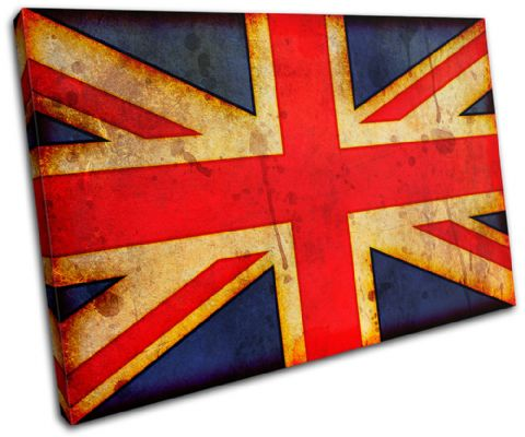 Abstract Union Jack Maps Flags - 13-1148(00B)-SG32-LO